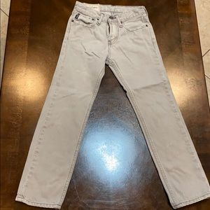 Abercrombie kids gray tone jeans